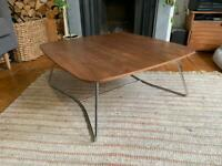 Mid century style unique coffee table