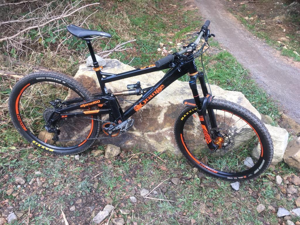 2016 orange alpine 160 650b