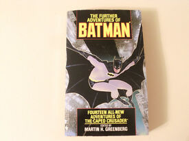 3 BATMAN BOOKS : BATMAN 1989 : THE FURTHER ADVENTURES OF BATMAN 1989 : BATMAN RETURNS 1992