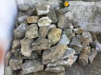 About 100 rockery rocks for free