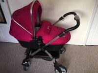 Baby girls pushchair excellent condition not rarely been used