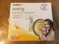 Medela Swing Electric Breast Pump - Used Excellent Condition