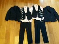 Twin boys suits age 6