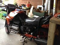 BMW K100 For sale, perfect for a project. Mot to June, runs fine, extra parts available.