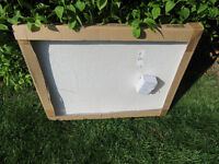 Bath Store 'Pool' end bath panel, acrylic. L700, H540. Still in box. S35 area