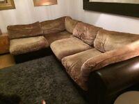 Large tetrad Hemingway dfs sofa modular / corner
