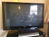 50inch Samsung Plasma TV With Full Samsung Home Sound and Cinema Entertainment System