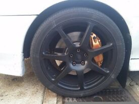 "Subaru impreza 18"" alloy wheels"