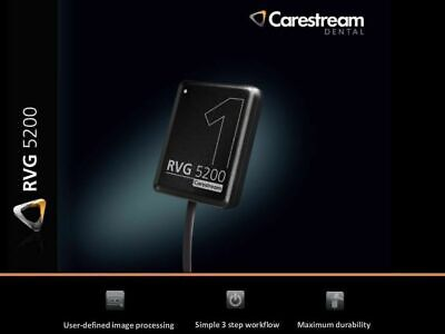 New Carestream Kodak Rvg 5200 Digital X-ray Sensor For Dental X-ray Size 2