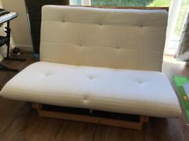 IKEA futon sofabed small double