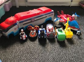 Paw Patrol Bundle Immaculate Condition