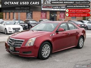 2011 Cadillac CTS 3.0 Accident Free! Ontario Vehicle!