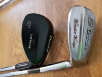 2 x golf wedges - dunlop and bronty