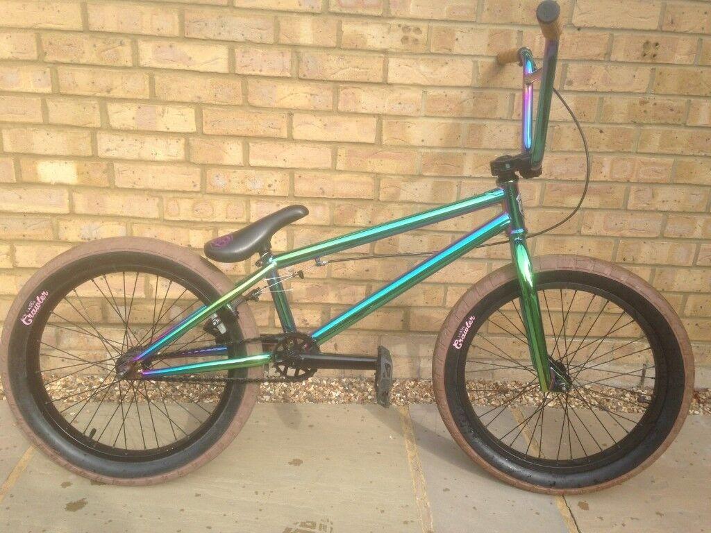 Mafia Bikes Harry Main Madmain Green Fuel 20 Inch BMX Bike