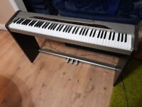 Casio px110 digital piano with pedal unit