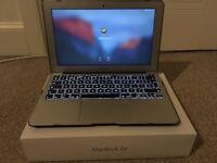Apple MacBook Air 11-inch Intel core i5 4GB **under manufacturers guarantee**