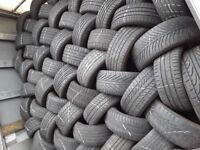 Used tyres / wholesale & retail / top quality / branded tyres / london barking