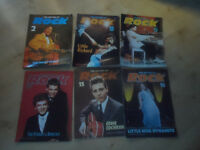 history of rock magazines x 6, EDDIE COCHRAN, THE KILLER X 6