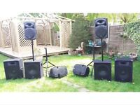 FULL BAND PA SYSTEM 4000w