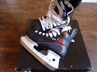 New - Ice Skates -SBK Hockey Co - size 5 Black Boys/Girls