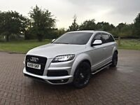 2010 AUDI Q7 S LINE 3.0 TDI QUATTRO FACELIFT FULLY LOADED SPEC HPI CLEAR FSH