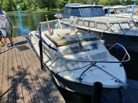 21ft Motor Boat (mooring and river licence included)