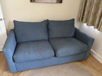 Pavilion Sofa Bed from Loaf - Hague Blue colour