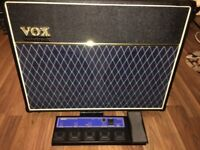 Vox Valvetronix AD120 in excellent condition with VC4 Pedal and amp cover