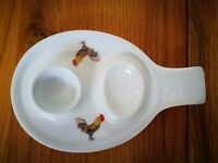 Double Egg Cup by Richard Bramble