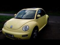 Vw beetle w reg black leather heated seats and sun roof
