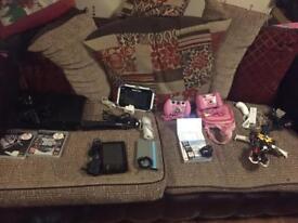 Ps3 ,vetch camera ,transformer, Nintendo Dsi, ino tab , Amazon Tab, Hoover and more