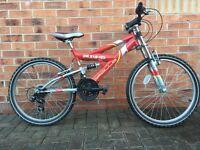 Apollo Unleashed 21 gear mountain bike
