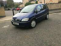 2005 VAUXHALL ZAFIRA 1.8 MPV LIFE 16V AUTOMATIC TRANSMISSION PETROL TYPE : UNLEADED
