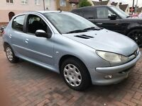 Peugeot 206 1.4 s - cheap on insurance - Ideal for first time buyer
