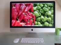 iMac 27 Inch, Late 2013 (Bought 22 Feb.2014). Immaculate.