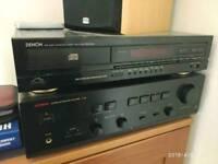 Luxman amplifier a331 and denon cd Player dcd660