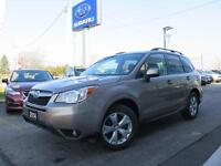 2014 Subaru Forester TOURING PACKAGE 6 SPD. MANUAL