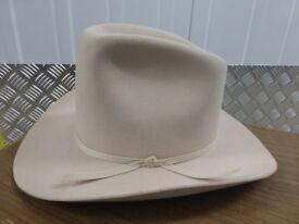 Stetson style fur felt cowboy hat