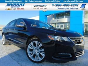 2014 Chevrolet Impala 2LZ *Panoramic roof! *NAV! *Clean 1 ownenr