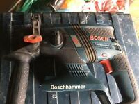 BOSCH GBH 36V-EC COMPACT CORDLESS SDS PROFESSIONAL DRILL
