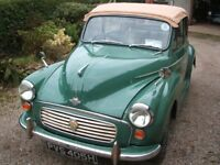 Beautiful 1970 Minor 1000 convertible for sale