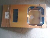 Brand new Modo single bowl stainless steel sink