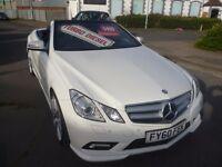Mercedes-Benz E Class 3.0 E350 CDI BlueEFFICIENCY AMG Sport Convertible,full Dynamic pack,FSH,2 keys