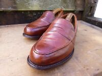 CHEANEY / CHURCH LOAFERS – BROWN / TAN – UK 11 – EXCELLENT CONDITION