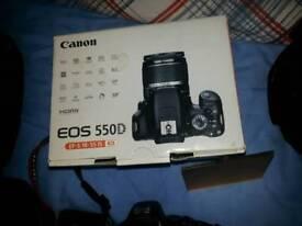 Canon 550d plus all accessories