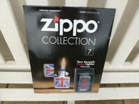 ZIPPO LIGHTER on MAGAZINE Issue No: 7 (Collectors)