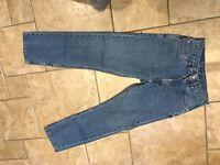 Levis 505 jeans blue 30W X 30R