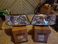 For sale Headlamp set 2003 on VW T5