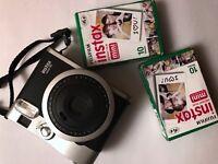 Fujifilm Instax mini 90 Polaroid Camera + photo paper