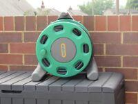 free standing garden hose reel